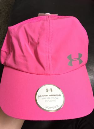 Womens OSFA pink reflective Hat for Sale in Cypress, TX