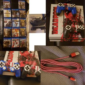 Playstation 4 Ps4 Bundle for Sale in Stockton, CA