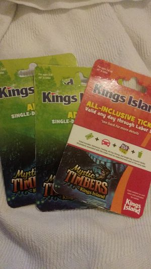 King's Island tickets. for Sale in Lexington, KY