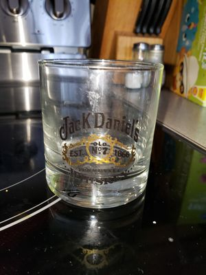 Used, JACK DANIELS WHISKEY GLASS for Sale for sale  League City, TX