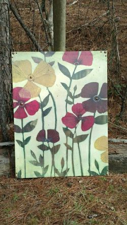 Beautiful Old Time Pottery Canvas 3ft by 2ft for Sale in Marbury,  AL