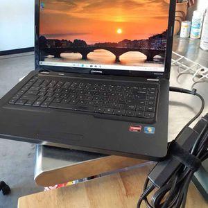 Laptop Compaq win 10 4gb ram 500 gb hd cpu amd for Sale in Loma Linda, CA