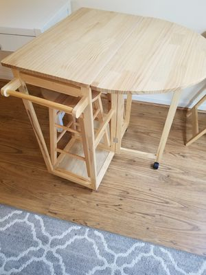 Wood kitchen island cart for Sale in Germantown, MD