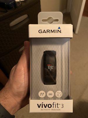 Garmin vivofit 3 for Sale in Wesley Chapel, FL
