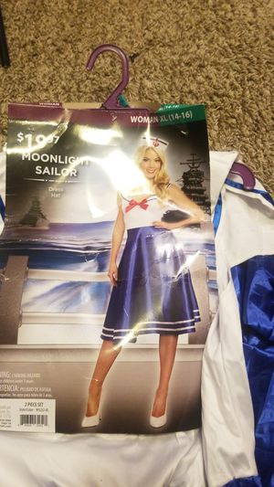 Sailor Moon /Sailor costume new for Sale in Crystal City, MO