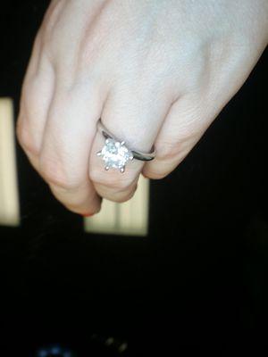 Platinum certified diamond ring new for Sale in Atlanta, GA