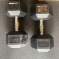 75lb Dumbbells for Sale in Raleigh,  NC