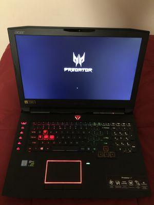 """Acer Predator 17"""" GTX 1070 - $800 OBO for Sale in Chantilly, VA"""