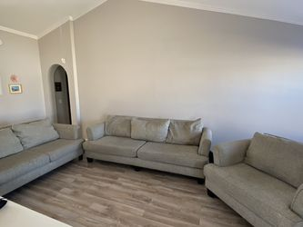 Tan 3 Piece Couch Set for Sale in Glendale,  AZ
