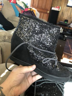 Juicy couture women boot heels for Sale in Tracy, CA