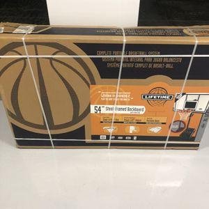 "NIB Lifetime 54"" Steel Framed Basketball Hoop Model 71524 for Sale in Laveen Village, AZ"