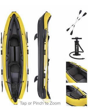 Brand new Tobin inflatable 2 person kayak!!! for Sale in Glenview, IL