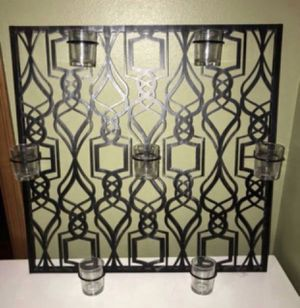 Huge Metal Wall Mounted Wall Art / Candleholder Partylite - Absolutely Gorgeous for Sale in Puyallup, WA