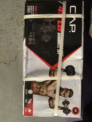 CAP 40lb Adjustable Dumbbells for Sale in Raleigh, NC