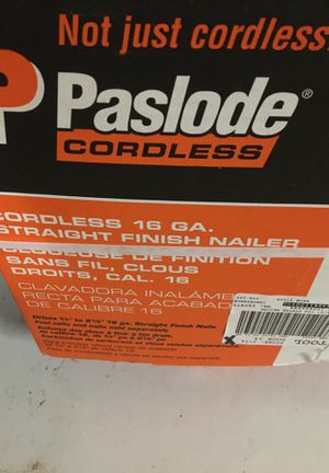 Pasload cordless 16 ga finish nailer for Sale in Buckley, WA