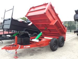 5x8x2 Dump Trailer for Sale in Rancho Cucamonga, CA