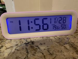 New alarm clock wireless travel light alarm etc for Sale in Poway, CA