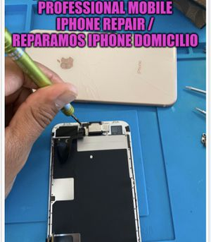 highly qualified iPhone parts !! 8 plus lcd 7 plus x xr xs max !! Llámenos tenemos partes a domicilio iPhone for Sale in Los Angeles, CA
