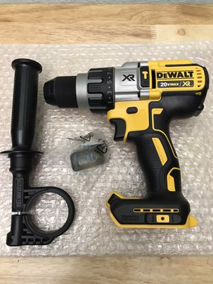 Today only .....DCD996 ... Dewalt 20 volt Max 1/2 hammer drill 3-speed ....$65......pickup only.......brand new ...No Battery No Charger.... for Sale in Rialto, CA