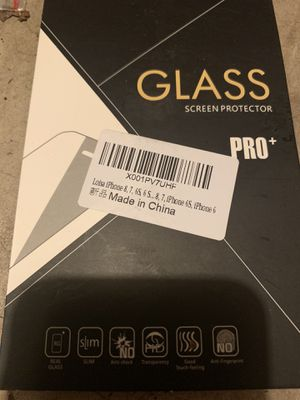 *New* glass screen protector for cell phone for Sale in Kent, WA
