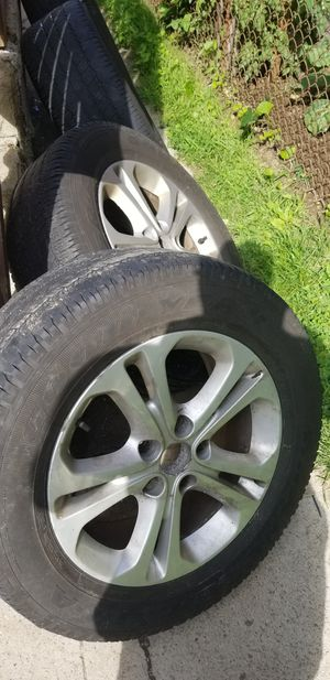 2011 durango rims and tires for Sale in Boston, MA