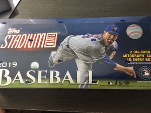 Baseball cards. Unopened box! 2019 Topps Stadium for Sale in Colesville, MD