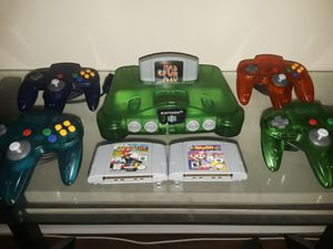 Nintendo64 green jungle for Sale in Rockville, MD