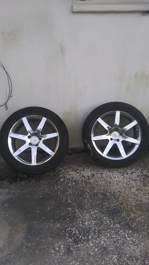 18 rims and tires for Sale in Tampa, FL