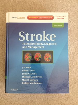 Stroke, pathophysiology diagnosis and management. Mint condition. Still wrapped in plastic. for Sale in Sacramento, CA