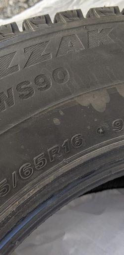 Bridgestone Blizzak Snow Tires for Sale in East Wenatchee,  WA