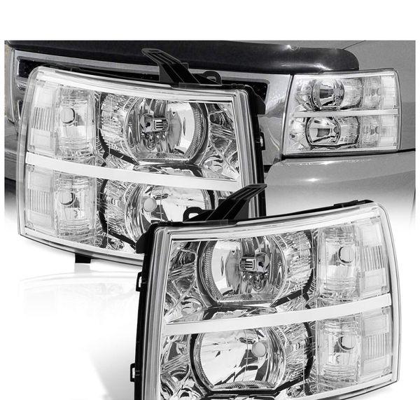 07/13 Silverado clear headlights