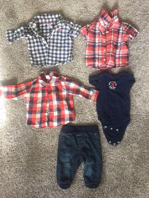 Baby boy clothes 3-6months for Sale in Corona, CA