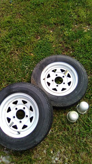 Pop-up camper tires and wheels for Sale in House Springs, MO