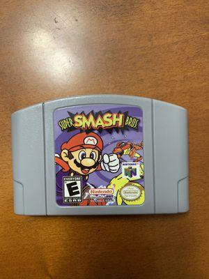 Super Smash Bros Nintendo 64 for Sale in Hialeah, FL