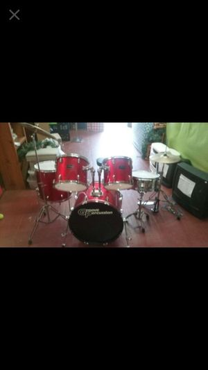 Complete drum set barely used for Sale in Camden, NJ
