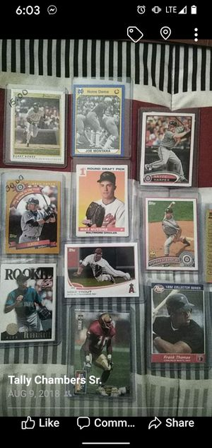 All kinds of cards!! Looking for certain cards I'm sure I have it! Very Very big collection! Baseball Football and Basketball! for Sale in Baltimore, MD