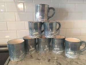 8 holiday mugs for Sale in Denver, NC