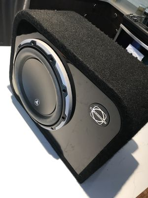 "JL Audio sub woofer 10"" top of the line driver and Amplifier for Sale in Seattle, WA"
