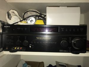 Sony stereo am/fm receiver - digital audio/video control center - 7 channel amplifier for Sale in Phoenix, AZ