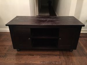 Wood TV stand for Sale in Oakland, CA