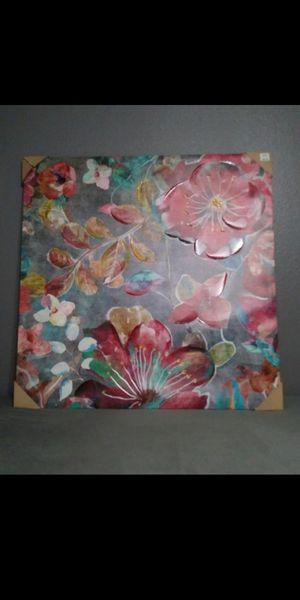 "New Big wall canvas decor 39.5"" x 39.5"" $45 for Sale in Mesa, AZ"