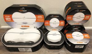 Arris Surfboard Ripcurrent WiFi Router with 4 HotSpot Signal Extenders for Sale in Los Angeles, CA