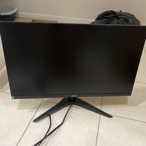 """AOC 24"""" LED-Backlit LCD Monitor for Sale in San Mateo, CA"""