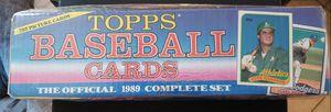 Topps Baseball 1989 Complete Set for Sale in Phoenix, AZ