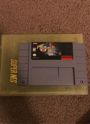 Street Fighter Alpha 2 (Authentic) (Super Nintendo, SNES, 1996) Good clean condition for Sale in Austin, TX