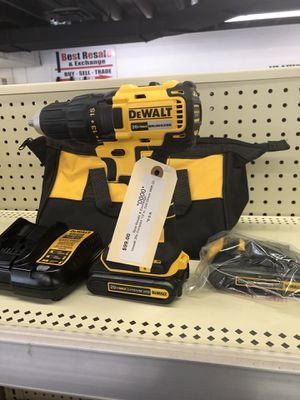 """DeWalt 1/2"""" Drill Driver Tool Kit 20v New for Sale in OH, US"""