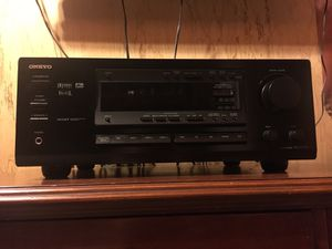 Onkyo receiver and a DCM Subwoofer for Sale in Port St. Lucie, FL