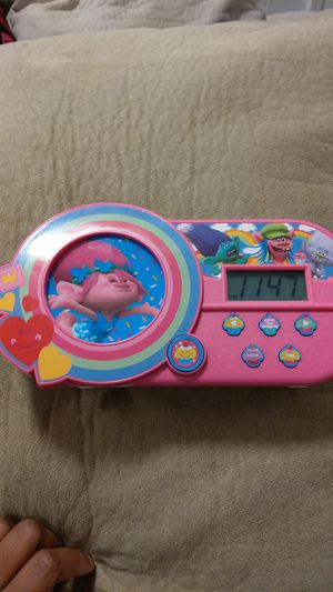 Trolls Alarm Clock *Excellent Condition* for Sale in Beaverton, OR