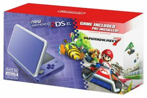 New Nintendo 2DS XL - Purple + Silver With Mario Kart 7 Pre-installed - Nintendo 2DS for Sale in Los Angeles, CA
