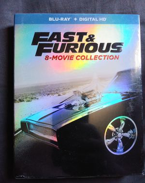 Fast and Furious 8 Movie Blu-Ray Collection for Sale in Brick Township, NJ